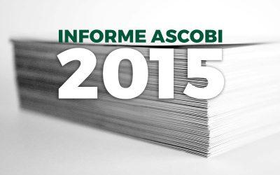 Presentado el Informe Ascobi 2015