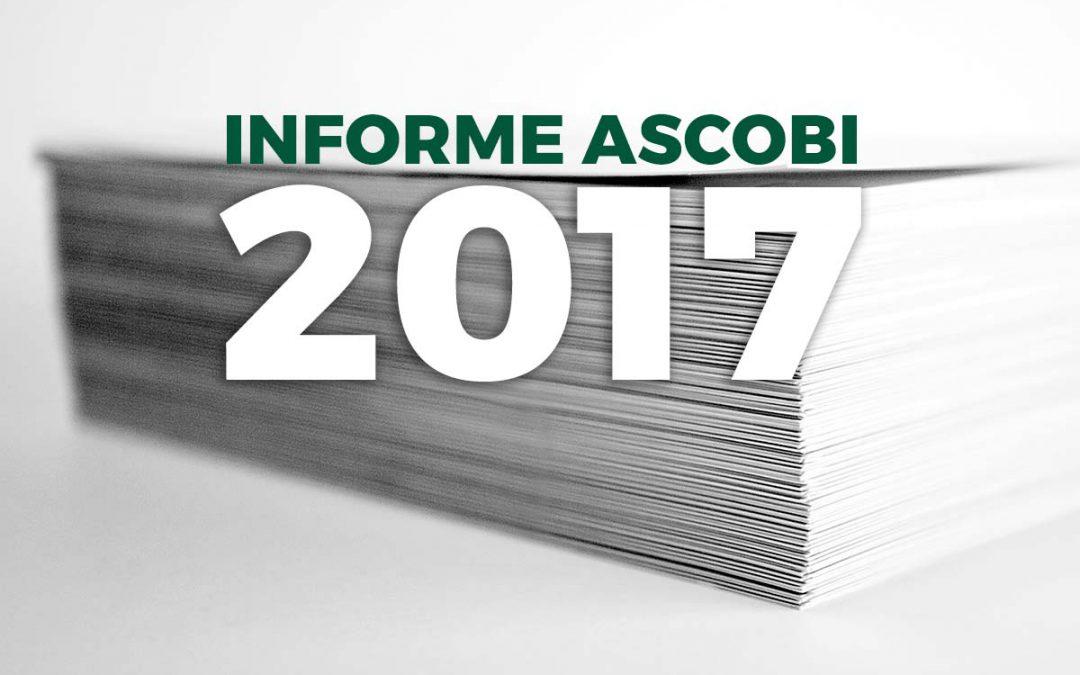 Presentado el Informe Ascobi 2017