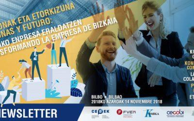 ASCOBI-BIEBA participa en el acto de presentación del proyecto 'Personas y Futuro: Transformando la empresa de Bizkaia'