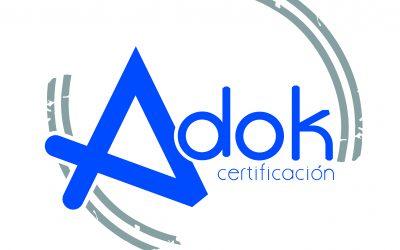 Ascobi ha firmado un convenio de colaboración con Adok Certificación