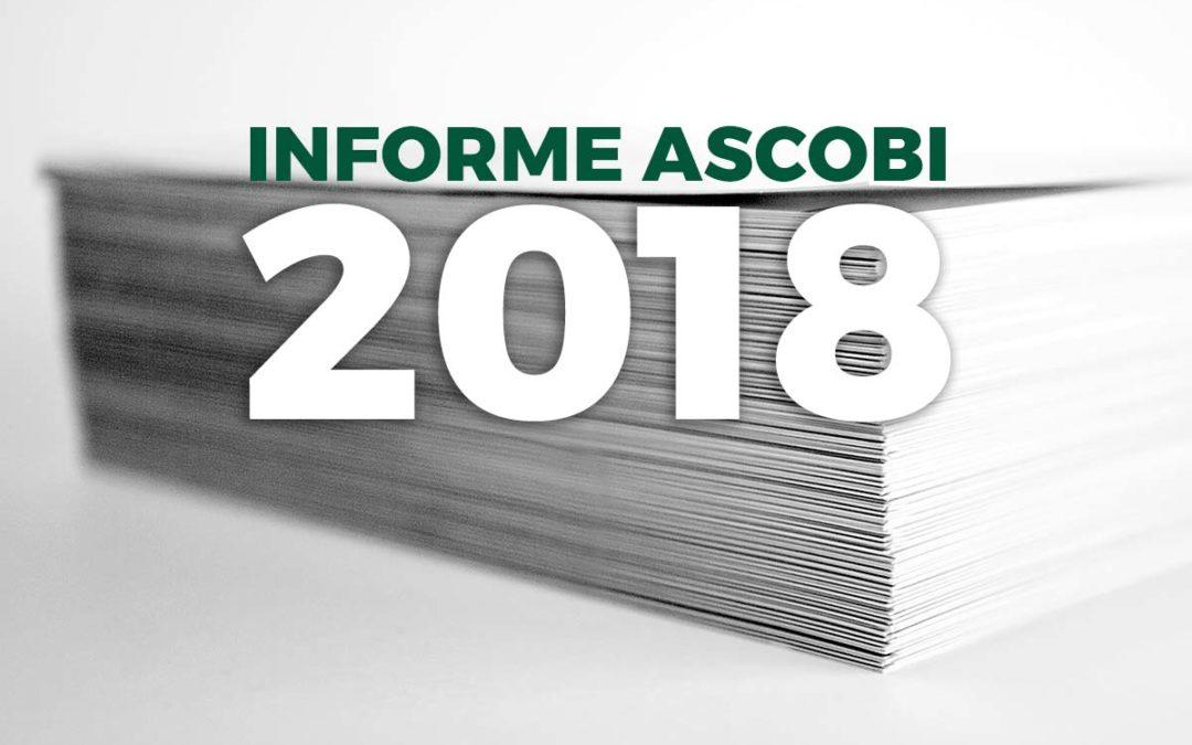 Presentado el Informe Ascobi 2018