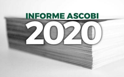 Presentado el Informe Ascobi 2020